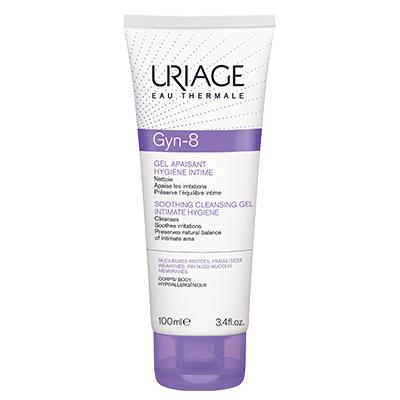Жин -8 успокаивающий гель для интимной гигиены uriage