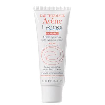 Увлажняющий защитный крем для нормальной и смешанной кожи hydrance optimale legere spf20, 40 мл avene