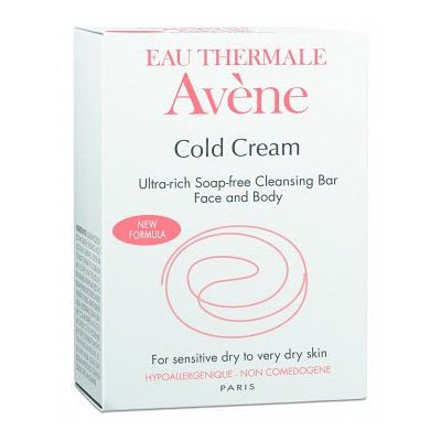Сверхпитательное мыло с колд-кремом cold cream, 100 гр avene