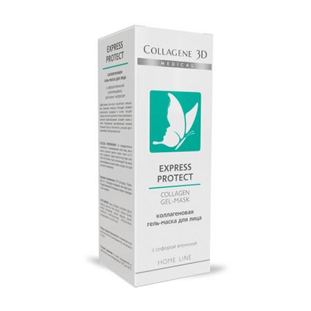 Коллагеновая гель-маска «express protect» от купероза medical collagene гель medical collagene 3d collagen gel mask eapress protect с софорой японской