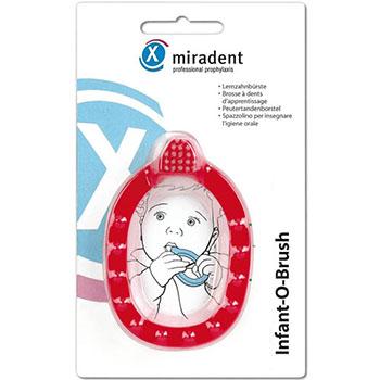 Зубная щетка infant-o-brush  для детей до двух лет miradent/docdont (Miradent)