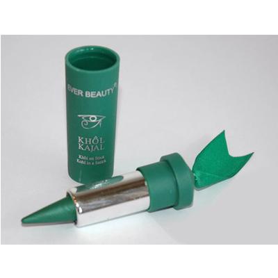 Кохль-помадка зеленая с перламутром  ever beauty сливочная помадка с цукатом