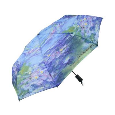 Складной зонт автомат по картине моне кувшинки galleria недорого
