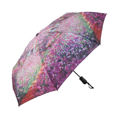 Складной зонт автомат по картине клода моне сад galleria недорого