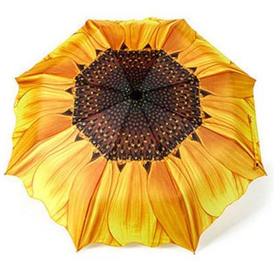 Складной зонт автомат цветок подсолнух galleria (Galleria)