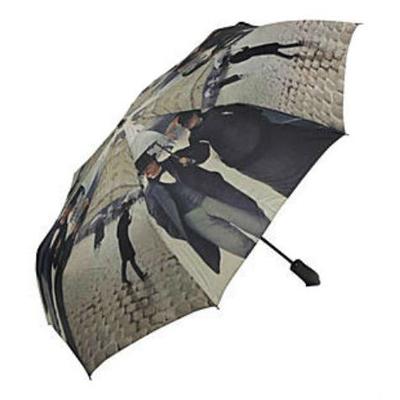 Складной зонт автомат по произведению гюстава парижская улица galleria 30210
