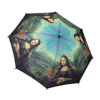 Складной зонт автомат по картине леонардо да винчи мона лиза galleria 30212
