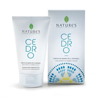Cedro крем для бритья для чувствительной кожи nature's