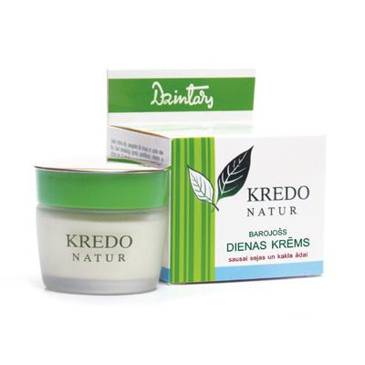 Kredo natur дневной питательный крем для  сухой кожи лица и шеи dzintars (Dzintars)