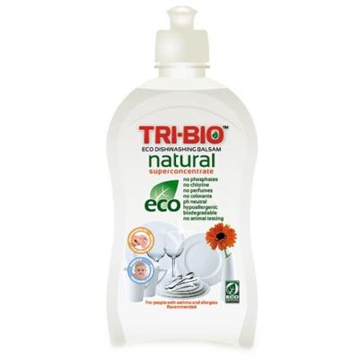 Бальзам натуральная эко-жидкость для мытья посуды 420мл tri - bio