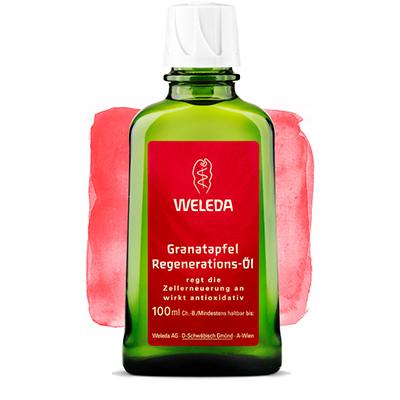 Гранатовое восстанавливающее масло для тела weleda 8847