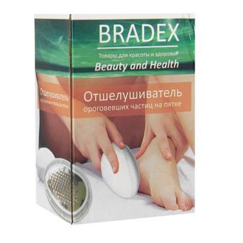Отшелушиватель ороговевших частиц на пятках bradex «шелковые пяточки» (Bradex)
