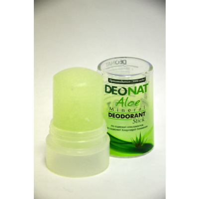 Дезодорант-кристалл деонат стик сок алоэ (40 гр) deonat дезодорант кристалл isme дезодорант кристалл