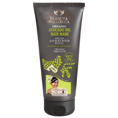 Маска на масле авокадо для всех типов волос planeta organica africa