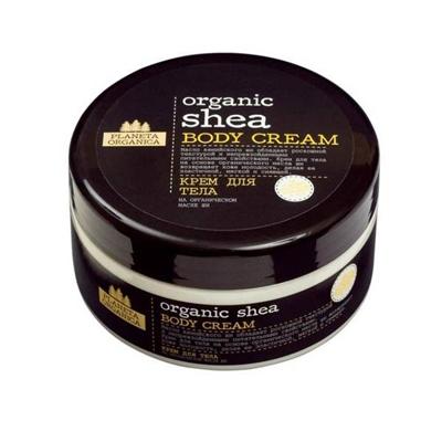 Крем для тела organic shea planeta organica bio shea увлажняющий традиционный крем баттер для тела