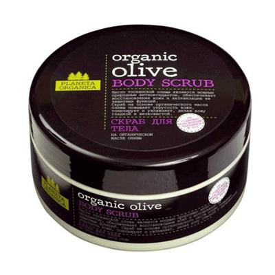 Скраб для тела organic olive planeta organica