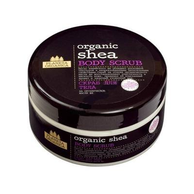 Скраб для тела organic shea planeta organica