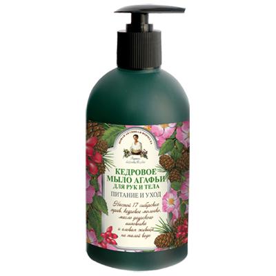 Жидкое мыло для рук и тела кедровое рецепты бабушки агафьи