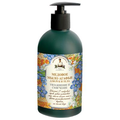 Жидкое мыло для рук и тела медовое рецепты бабушки агафьи