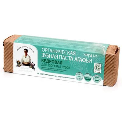 Органическая зубная паста для здоровья зубов кедровая рецепты бабушки агафьи