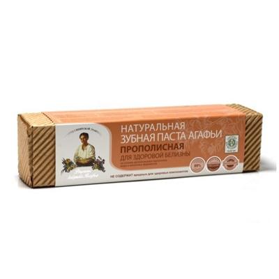 Натуральная зубная паста для здоровой белизны прополисная рецепты бабушки агафьи