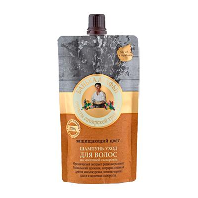 Шампунь-уход для волос защищающий цвет рецепты бабушки агафьи
