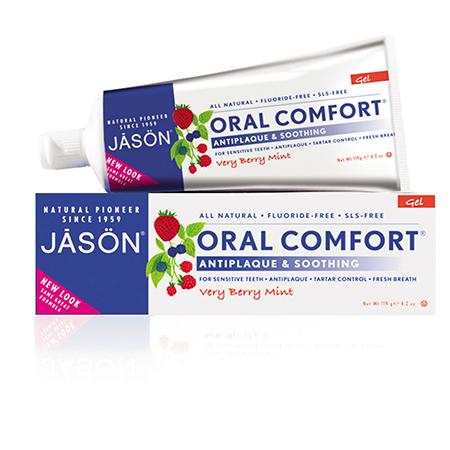 Гелевая зубная паста oral comfort для чувствительных зубов jason