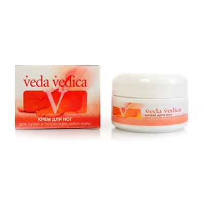 Крем для ног для сухой и потрескавшейся кожи veda vedica (ААША)