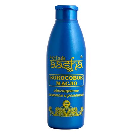 Кокосовое масло с лимоном и ромашкой  aasha herbals (ААША)