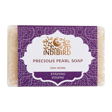Аюрведическое мыло драгоценный жемчуг амрита