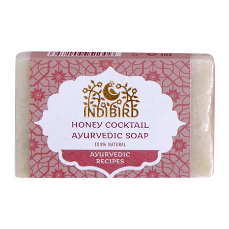 Аюрведическое мыло медовый коктейль амрита