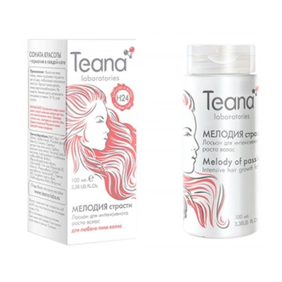 Несмываемый лосьон для интенсивного роста вослос с софорой и биотином teana (Teana)