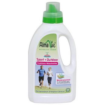 Жидкое средство для стирки спортивных и мембранных тканей эко almawin 4019555705014