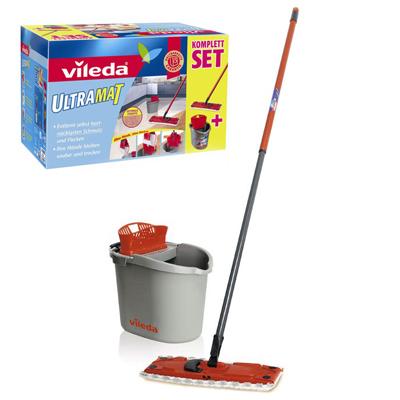 Комплект для уборки ультрамат vileda набор для уборки пола vileda ультраспид про двухведерный стартовый с транспортировочной ручкой