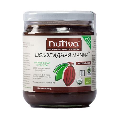 Органическая шоколадная манна nutiva