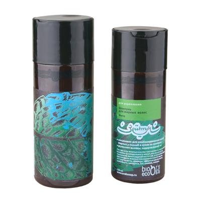 Шампунь мята для укрепления жирных волос зейтун (Зейтун)