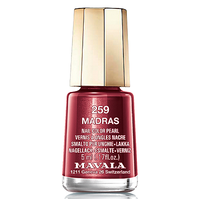 Лак для ногтей (тон 259 мадрас/madras) mavala