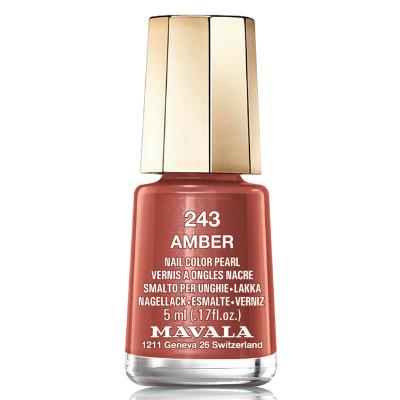 Лак для ногтей (тон 243 янтарь/amber) mavala (Mavala)