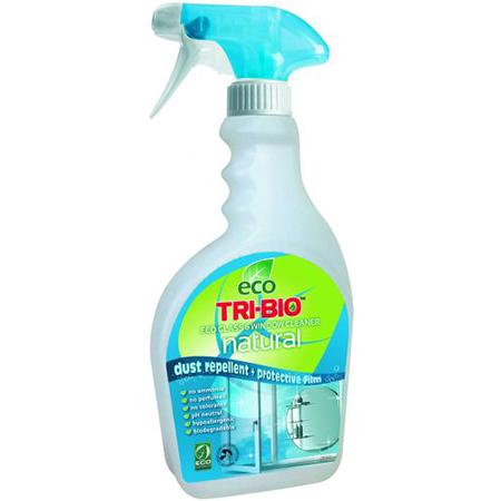 Натуральная эко жидкость для мытья стекол tri-bio