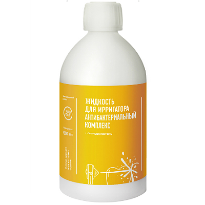 Жидкость для ирригатора антибактериальный комплекс water dent (Water Dent)