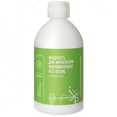 Жидкость для ирригатора фитокомплекс без фтора water dent