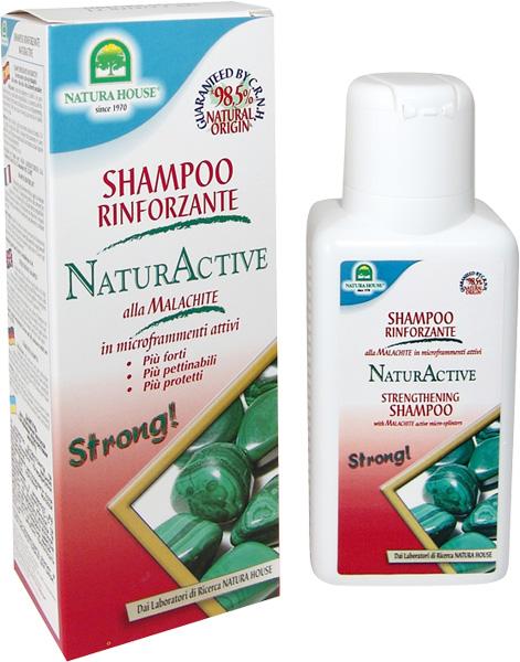 Шампунь для укрепления волос натурактив natura house (Natura House)