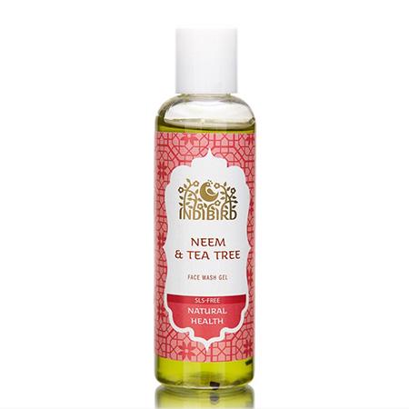 Гель для умывания лица ним/чайное дерево амрита гели levrana гель для умывания чайное дерево