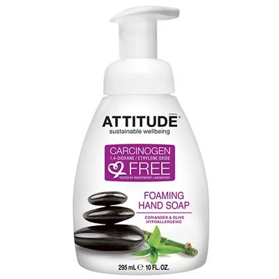 Жидкое мыло-пенка для рук кориандр и олива attitude (Attitude)
