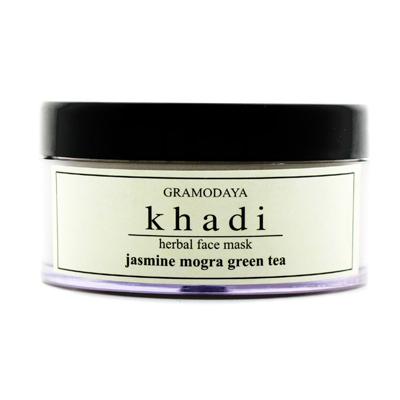 Купить Глубокоочищающая маска для лица с жасмином и зеленым чаем indian khadi