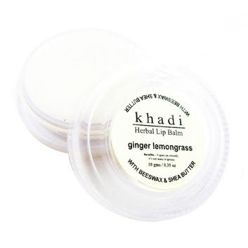 Бальзам для губ с имбирём и лимонником indian khadi (Indian Khadi)