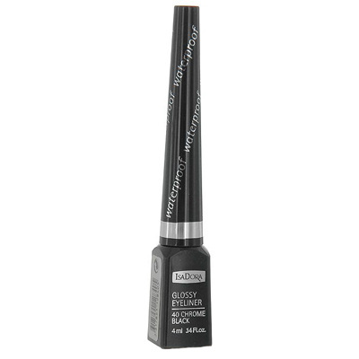 Подводка для век водостойкая glossy eyeliner (тон 40) isadora