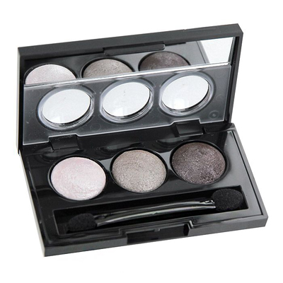 Тени для век eye shadow trio (тон 80) isadora 10piece 100