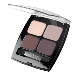 Тени для век eye shadow quartet  (тон 44) isadora тени для век isadora eye shadow quartet 03 цвет 03 urban green variant hex name a19388