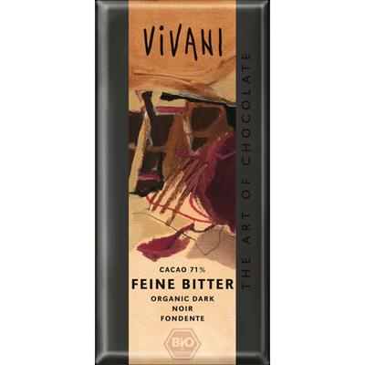 Шоколад темный, 71% какао vivani (Vivani)